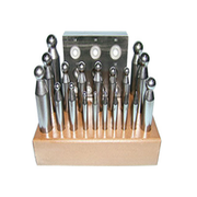 Punch set, 2-20 mm (21 pcs.)