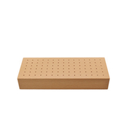 Storage box for cutters, solid block