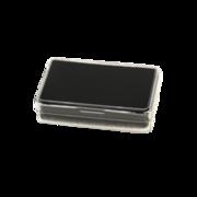 Display indsats, sort fyld, 5,00 x 3,00 cm