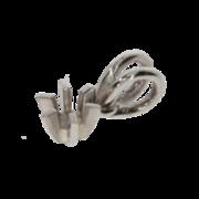 Vedhæng med 6 greb 585/- hvidguld
