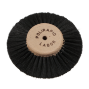 Black pointed lathe brush
