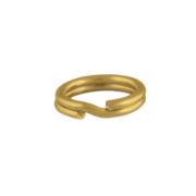 Split ring 585/- yellow gold