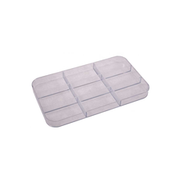 Plastic storage inserts with 9 compartments