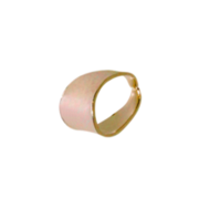 Open pendant bail 585/- yellow gold