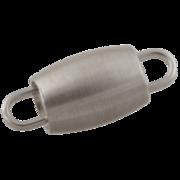 Barrel-shaped shortener 925/-