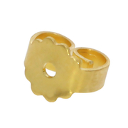 Standard ear nut 750/- yellow gold